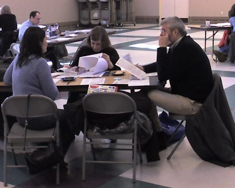 photo of consensus judging group