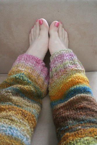 for Rav: Jam legwarmers