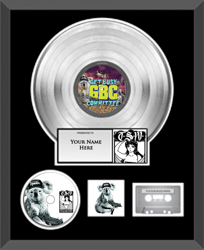 Get Busy Committee Platinum Plaque