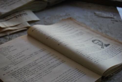 Libro de inglés en la escuela - Copyright Roser Martínez