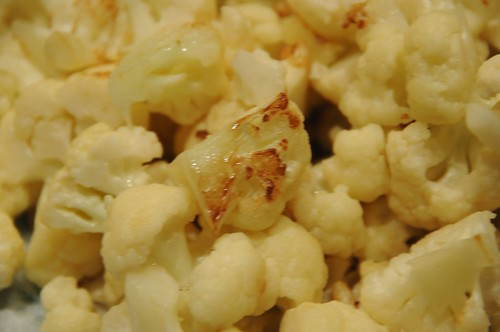 cooked cauliflower