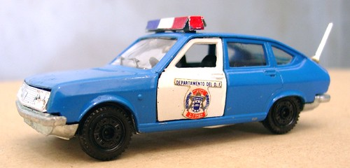 McGregor Lancia Beta polizia