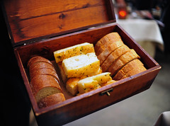 Bread in a box.