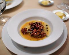 Grilled Guinea Hen Liver