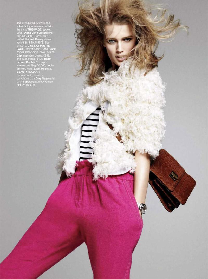 Harper's Bazaar US April 2010 5