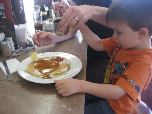 Retro Roadboy and his Diner Pancakes
