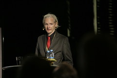 Julian Assange, WikiLeaks, at New Media Days 09
