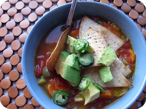 Rustic Tortilla Soup