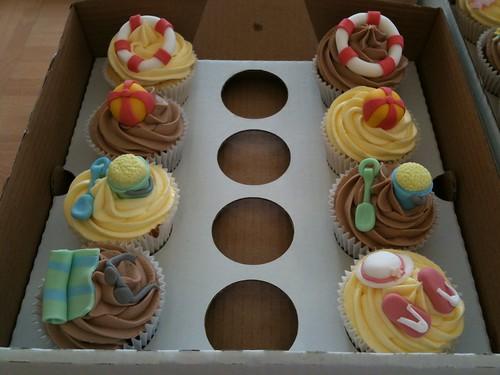 Cirencester Cupcakes - Seaside Cupcakes