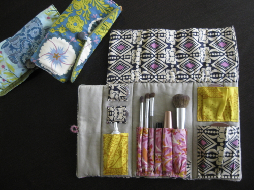 Makeup Rolls for Home & Travel