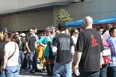 Colorful People at LA Street Food Fest
