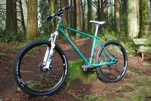 Sweatpea Steel hardtail Mountain Bike