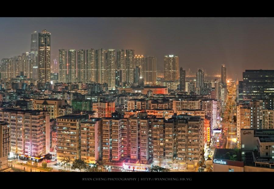 The Night of Sham Shui Po | 深水涉的夜空