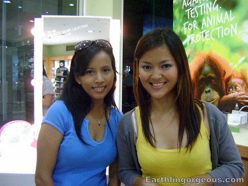 With The Body Shop Marketing Manager