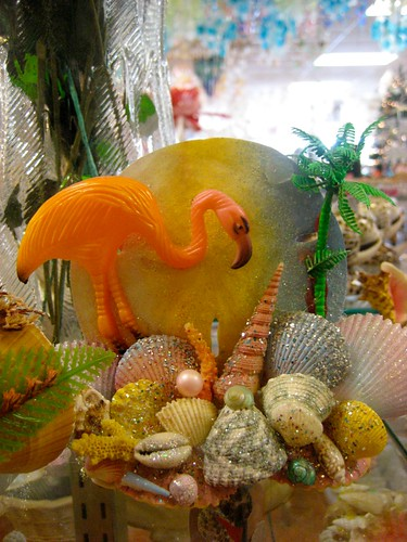 Beautiful Tacky Flamingo Souvenir