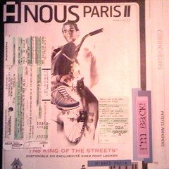 My first attempt at photographing a scrapbook layout from my Paris 2006 Book
