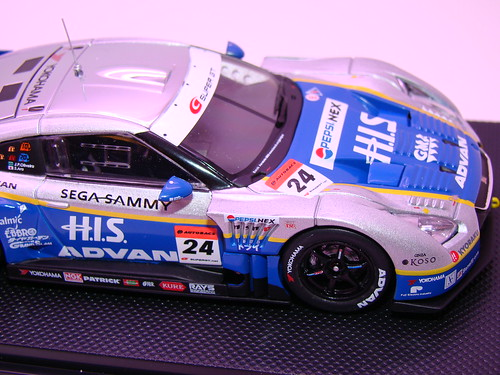 EBBRO HIS ADVAN KONDO GT-R SUPER GT 500 2009 RD.7 FUJI (6)
