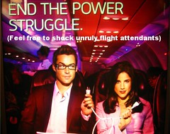 Virgin America Tweaked Ad