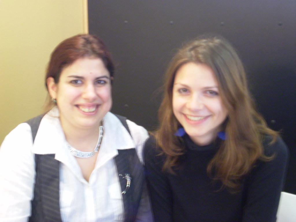 Rhiannon Lassiter and Natalia Sikora