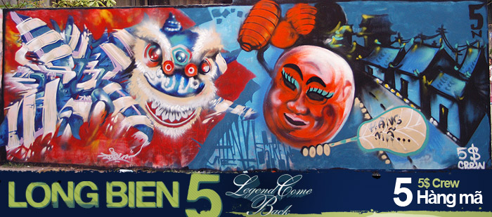 Long Biên 5 Graffiti Battle 4
