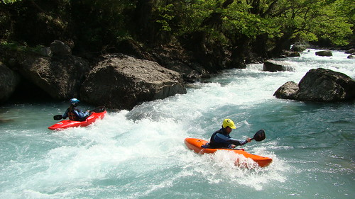 Spyros & Satu on the Upper Kali