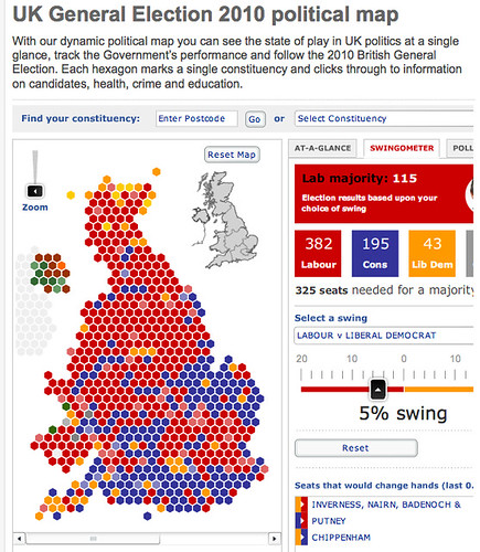 Telegraph election map