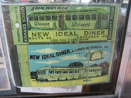 Good Food is Good Health - New Ideal Diner