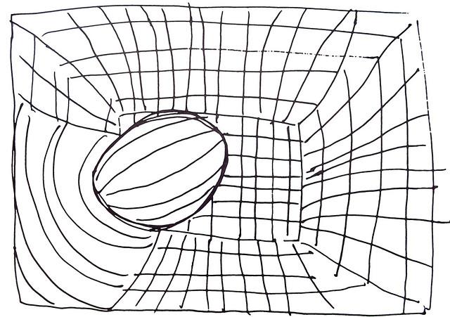Quilt Pattern Sketches ~ Wire Basket