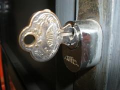 Chave e fechadura