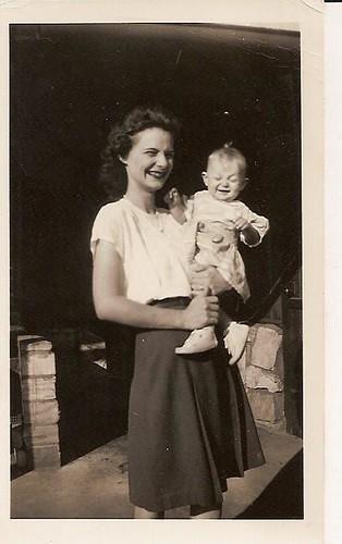 maw maw betty & my mom