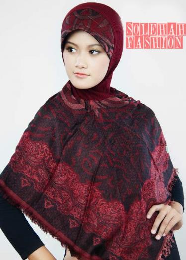 Ruqayyah Red Hijab