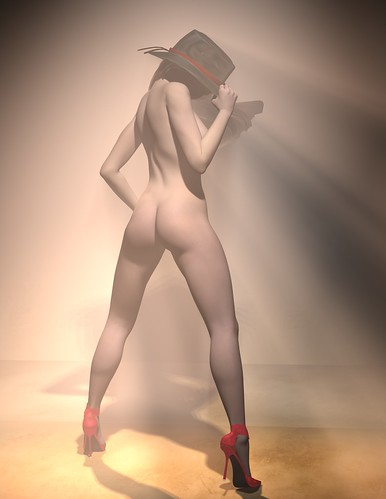 Burlesque Render 07- Peek Daz Studio Render