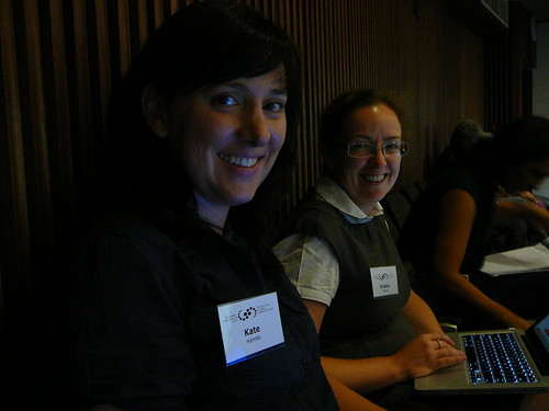 Kristin and Kate from Bridge8 at ASC2010