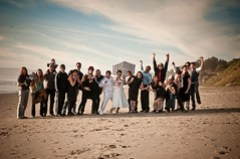 The whole wedding!