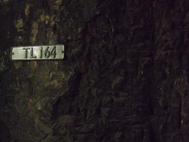 Brickwork detail - Thames Tunnel