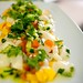 Scallop Ceviche with mango