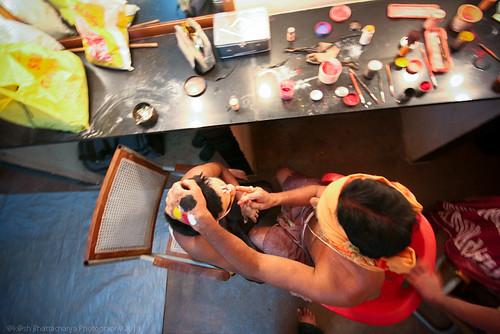 Top View @ Yakshagana Makeup   Bangalore
