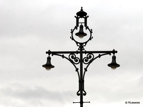 Farola del Paseo de Sarasate