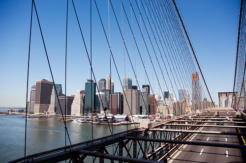 Ponte di Brookly e Financial District