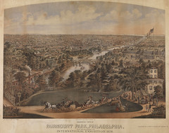 Birdseye view of Fairmount Park, Philadelphia,...