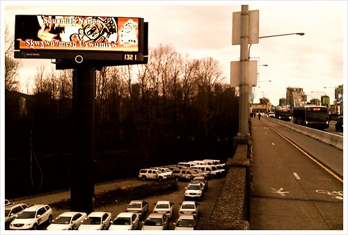 Horrible Burrard Bridge billboard #van2010
