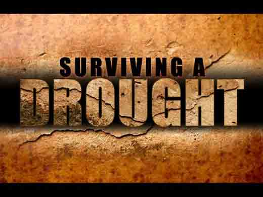 Surviving a drought