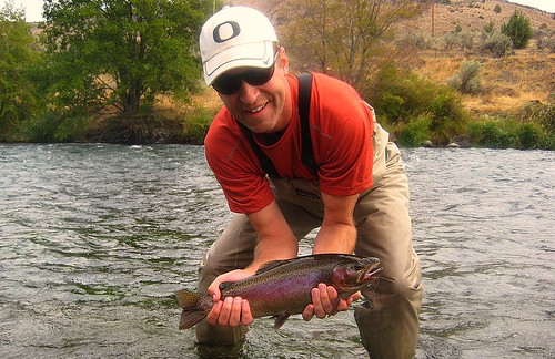 A Beautiful Deschutes River Rainbow, cropped