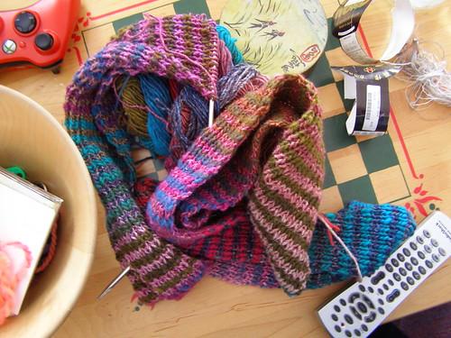 noro stripe scarf