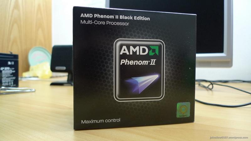 AMD Phenom II x4 955 BE - 01