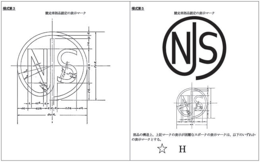 Fixed Gear Blog: NJS // 日本自転車振興会