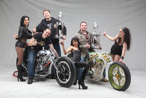 Energicer and TGS Motorcycles Competing in the European Championshipr