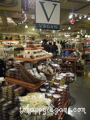 Wholefoods vegan area