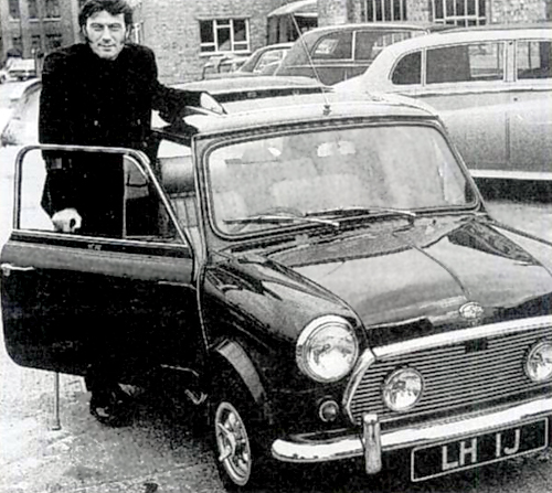 Laurence Harvey & His MIni