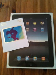 Ipad 3G in da house
